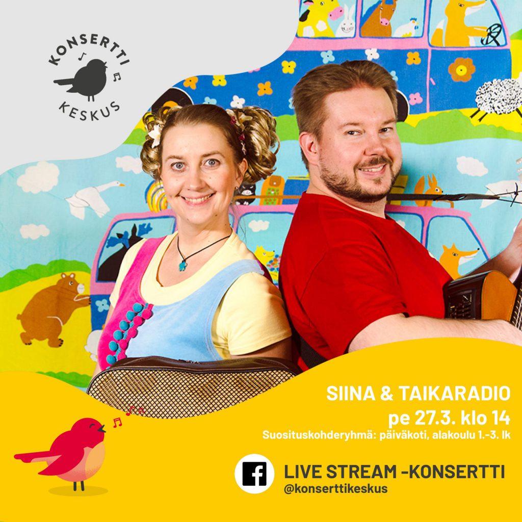 siina ja taikaradio live stream
