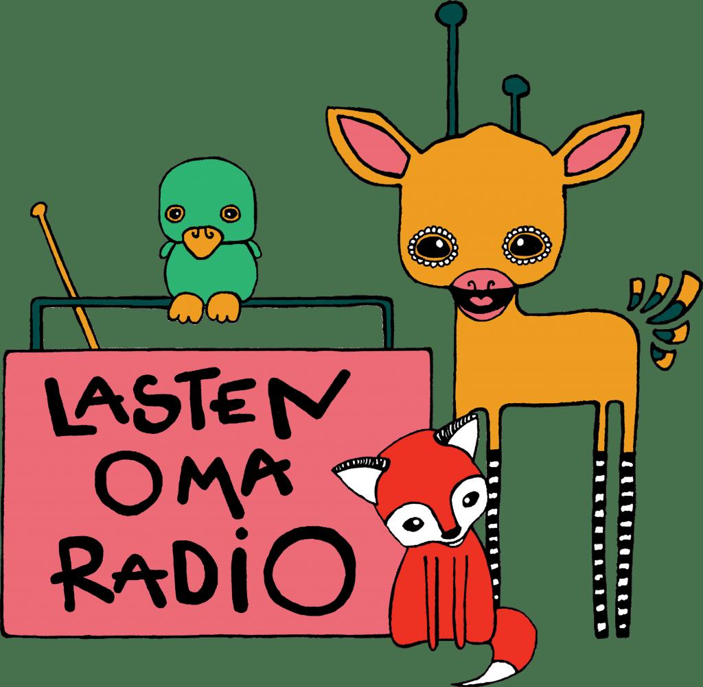 Lasten Oma Radio - logo - transparent